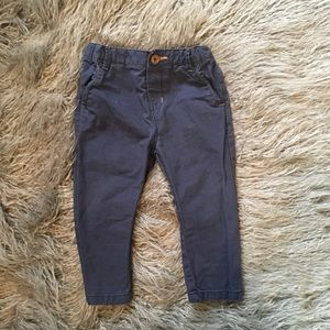 Zara baby boy navy chinos
